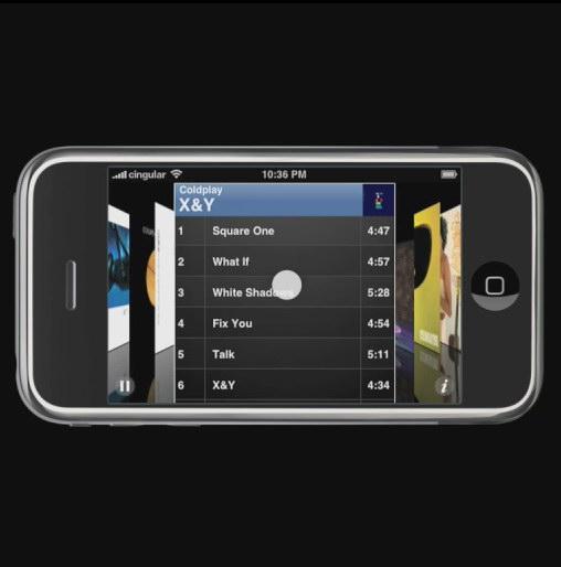 苹果iphone界面设计