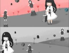韩国goorimi可爱动感插画欣赏