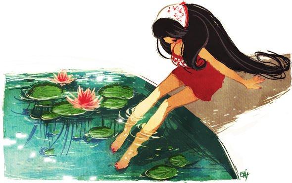日本seaple手绘插画作品欣赏(2)