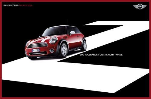 宝马mini汽车广告设计