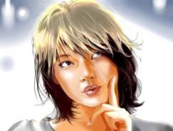 Catherine手绘插画欣赏