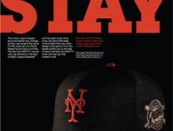 NEWERA帽平面廣告設計