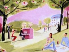 法国Corbasson时尚风格插画欣赏