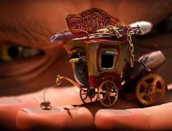 匈牙利藝術家PeterFendrik的3D靜禎作品