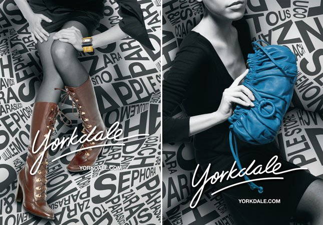 Yorkdale购物中心广告欣赏