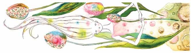 日本hiro可爱男孩女孩插画作品(3)