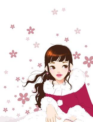 韩国toonsa可爱女孩插画(3)