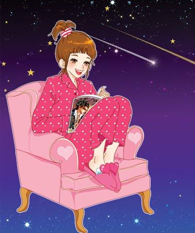 韩国toonsa可爱女孩插画(5)