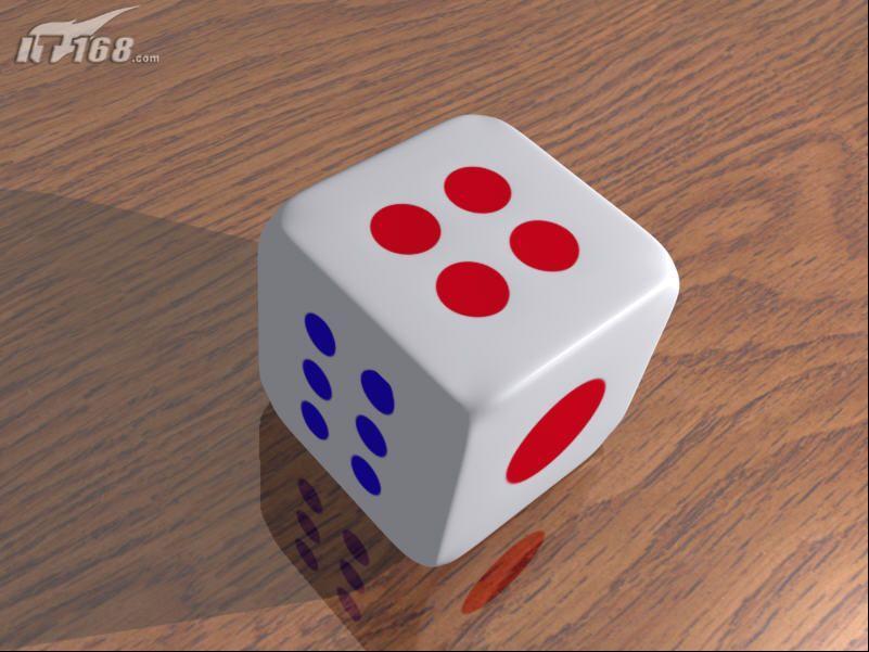3dmax制作一个麻将骰子(2)图片