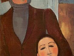 意大利畫家阿米地奧·莫迪里阿尼(AmedeoModigliani)