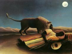 法国画家亨利·卢梭(HenriRousseau,1844~1910年)