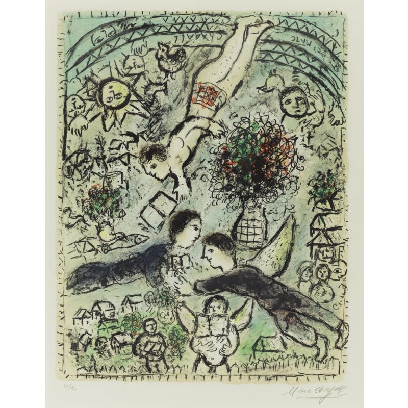 俄国画家马克·夏加尔marc chagall 三3 设计之家图片