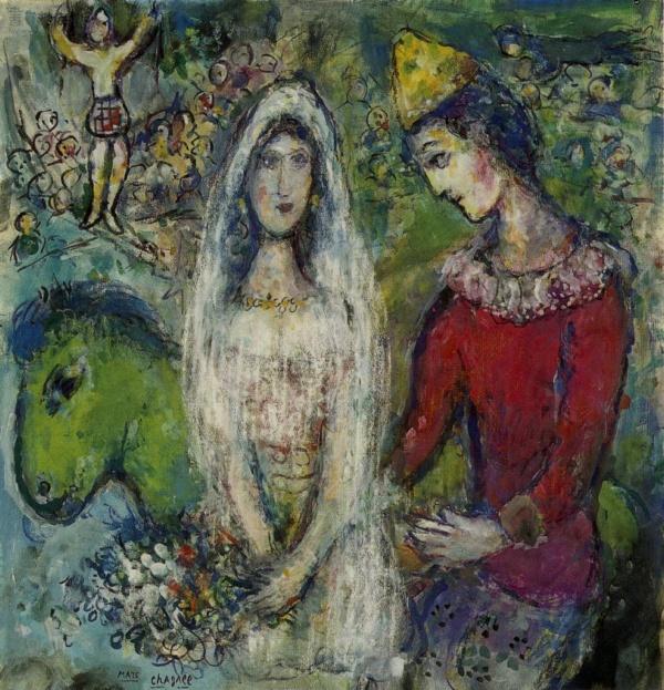 俄国画家马克·夏加尔marc chagall (二)(9)图片
