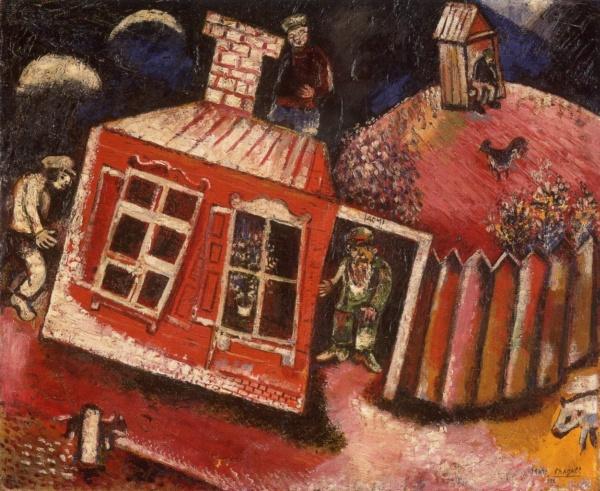俄国画家马克·夏加尔marc chagall 二9 设计之家图片