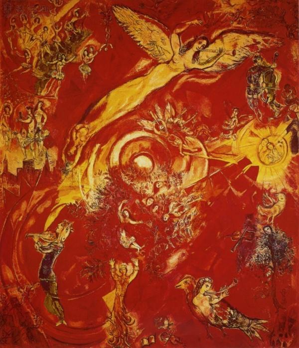 俄国画家马克·夏加尔marc chagall (三)(9)图片