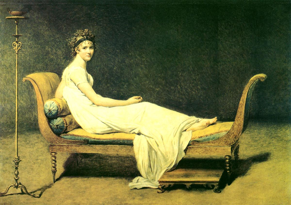 法国新古典主义画家:雅克·路易·大卫(JacquesLouisDavid)