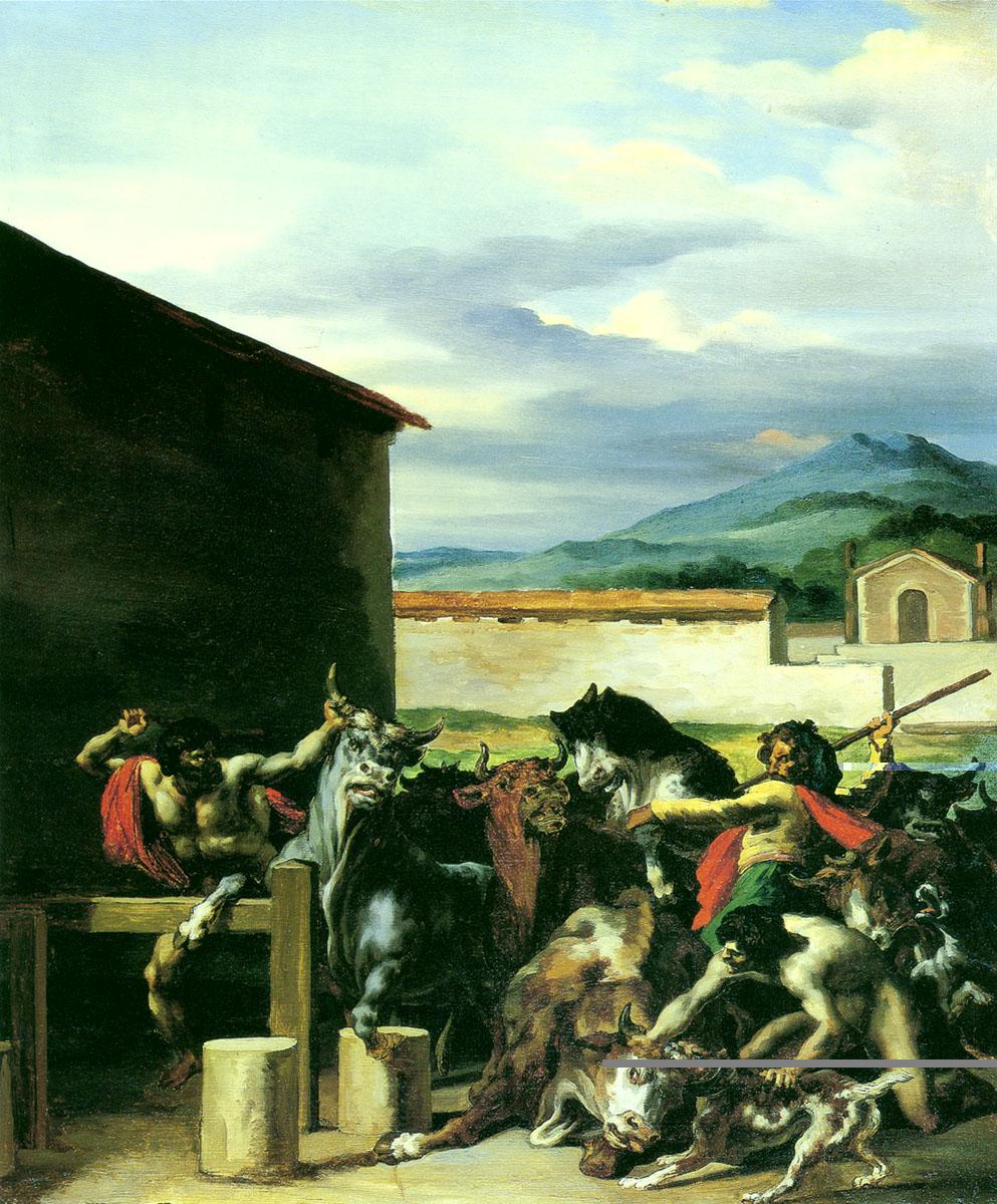 法国浪漫主义画派先驱泰奥多尔 席里柯 Theodore Gericault