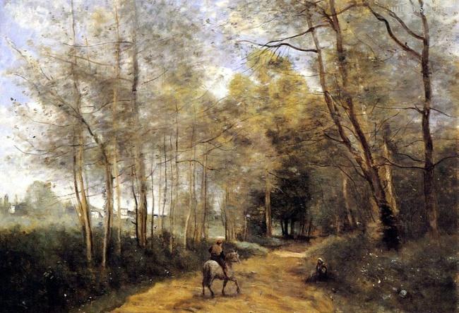 法国风景画家柯罗jean