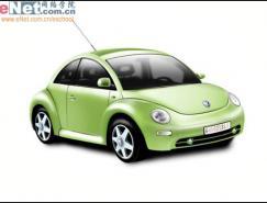 photoshop鼠绘实例:大众甲壳虫汽车