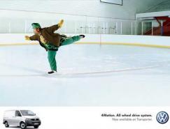 大众Transporter广告设计