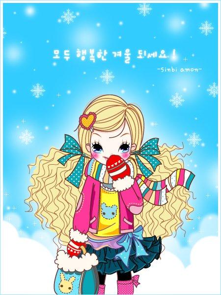 韩国sinbiamon插画欣赏