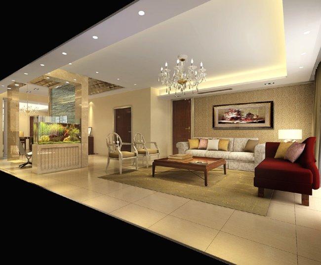 欧式室内效果图设计 - 设计之家