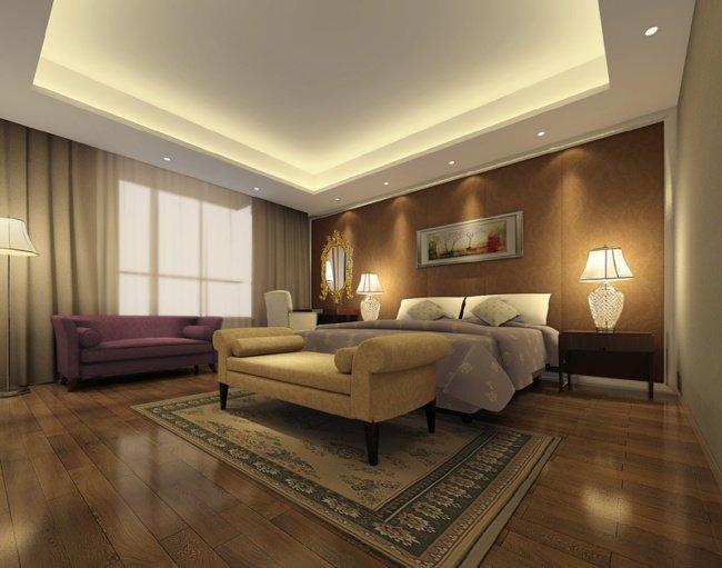 欧式室内效果图设计