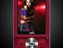 Photoshop鼠绘索爱W910i手机