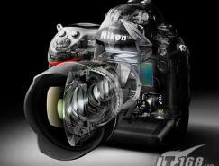 尼康全画幅单反相机:D3