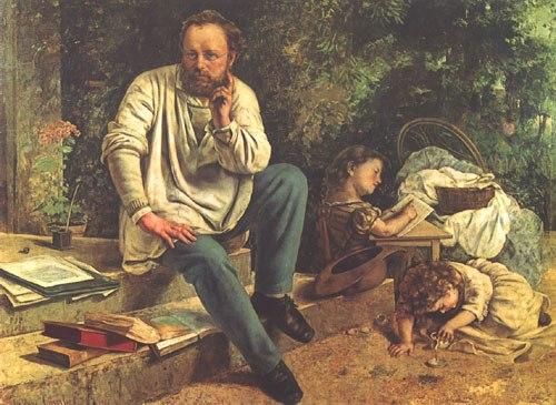 法国画家居斯塔夫 库尔贝 Gustave Courbet,1819 1877图片