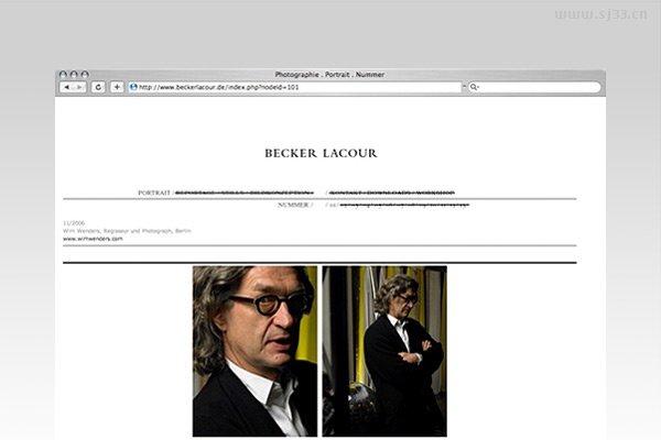 德国hauserlacour网页设计