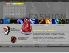 ZOYA網站界面設計