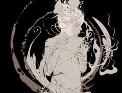 Magnus时尚个性插画