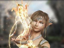 龙与女孩:Ooraikul3D作品