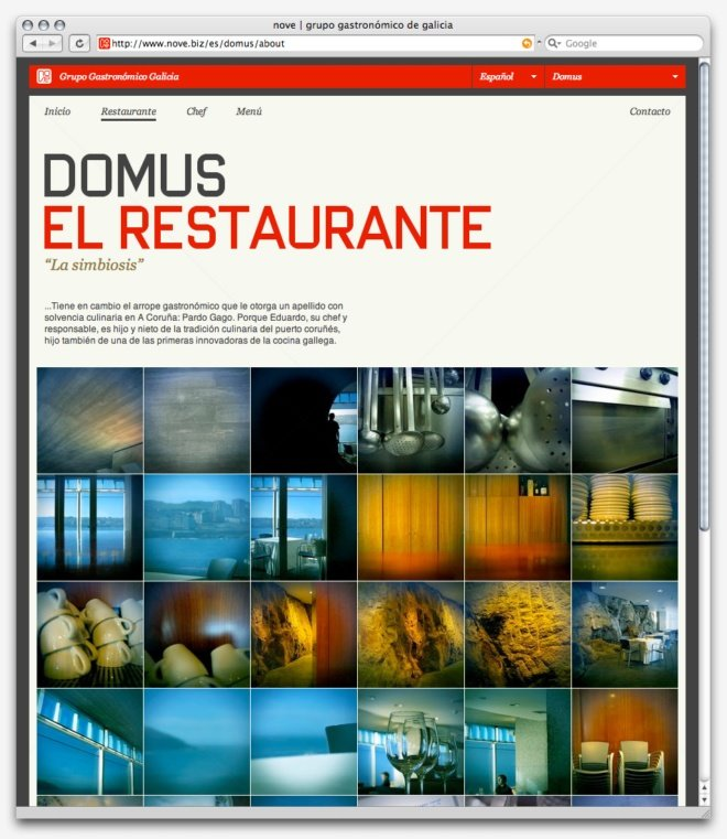AREA17网页界面设计
