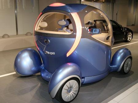 Nissan概念电动车Pivo2