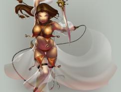 日本elpinoy人物插画欣赏