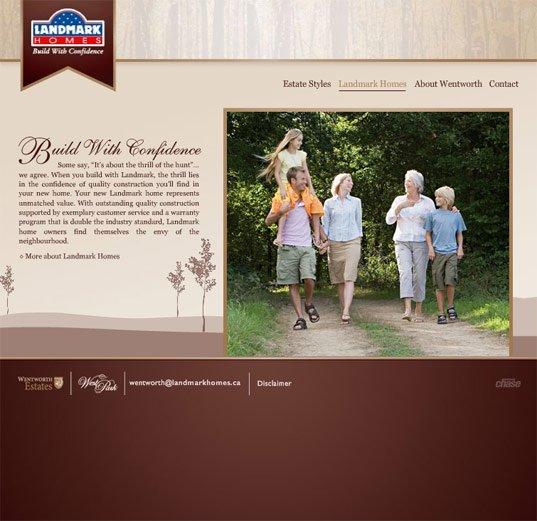 Residue网页界面设计