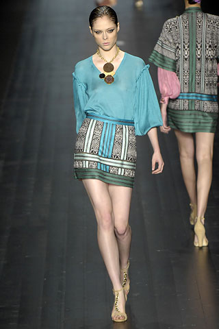 Missoni米索尼2008春夏时装