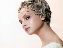 Photoshop图片合成教程:人物照片制作成金属雕像