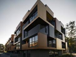 斯洛文尼亞建筑師Ofis的Tetris公寓設計
