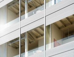日本著名設計師ShigeruBan的金屬百葉窗大廈