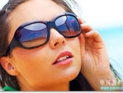 Photoshop模拟太阳镜上的反光图像