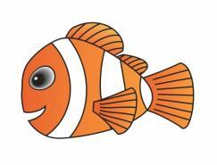 Coreldraw绘制小鱼Nemo
