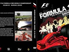 F12007赛季DVD封面设计