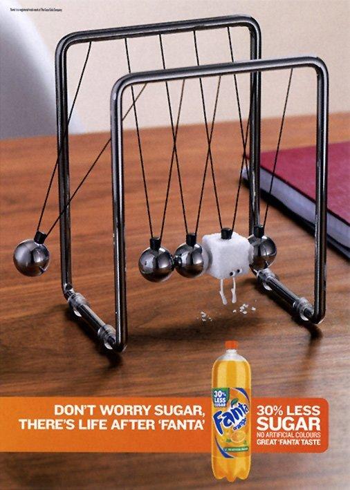芬达(Fanta)饮料平面广告欣赏