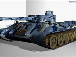 3dsMAX大型坦克是因�槟�蛑倚慕�模教程