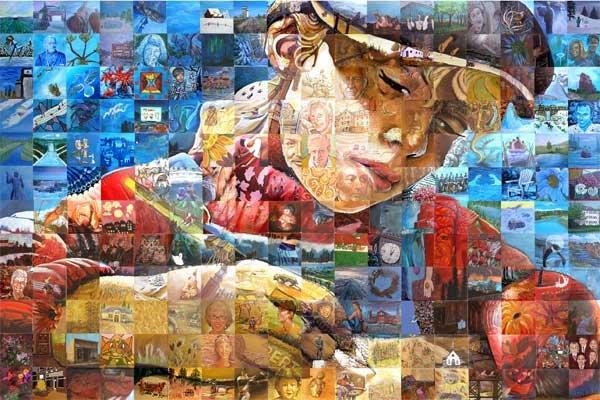 mural马赛克拼贴画艺术(2)