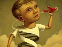 丰富的想象力:Buzelli插画欣赏