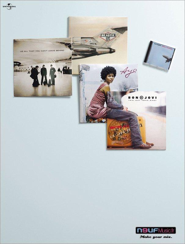 N9UF音乐电台平面广告欣赏
